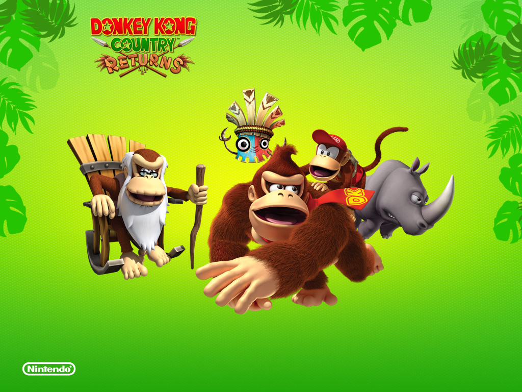 Downloads | Donkey Kong Country Returns
